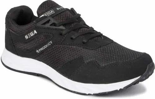 Black Mens Sega Shoes, Size: 6-10, Rs