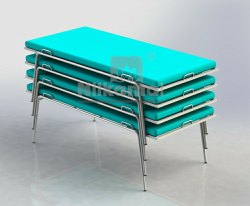 Nilkamal Quarantine Stackable Beds