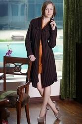Dark Brown Women Tunic