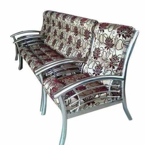 Designer Stainless Steel Sofa Set At Rs 26000 Set Stainless Steel Sofa Set Id 21770843012