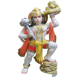 Colored Hanuman Statue