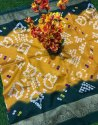 Ligalz Presents Bhagalpuri Silk Bandhani Style Saree
