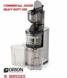 Semi-Automatic Steel Commercial Slow Juicer Heavy Duty 5-6 hours use, 2ltr