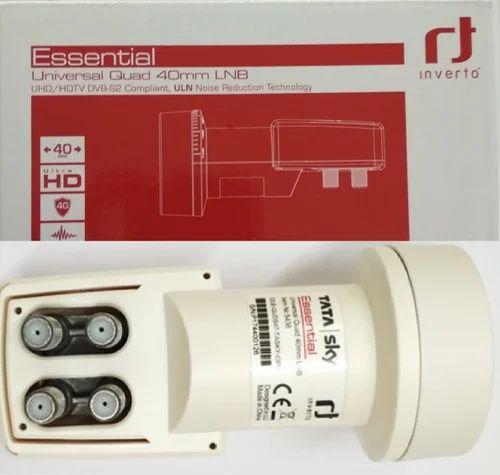 HD LNB - Inverto Universal 4 Port LNB Quad 40mm Ultra HD 4G