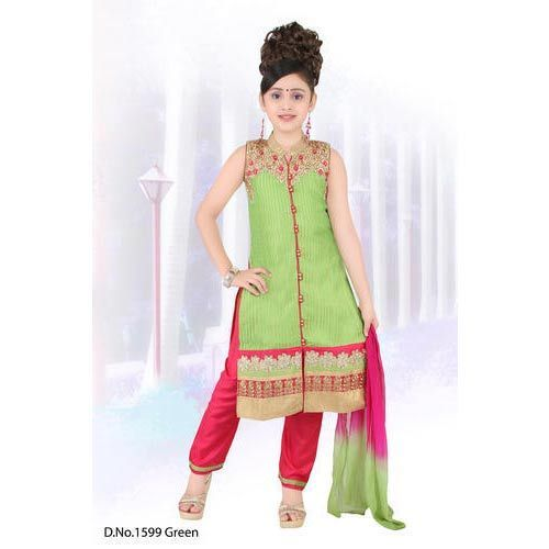 5c29d4ee38a1 Designer Baby Girl Churidar Suit at Rs 895  piece