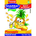 Soft Drink Concentrate For 40 Glasses - Pineapple Flavour