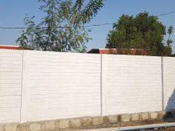 Prestressed Precast Boundary Wall
