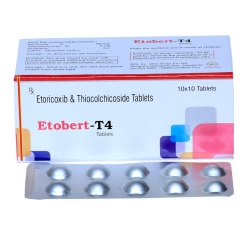 Etoricoxib 60mg With Thiocolchicoside 4mg Tablets