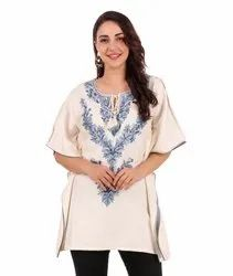 Ladies Embroidery Poncho