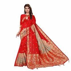 1870 Bhagalpuri Jacquard Silk Saree
