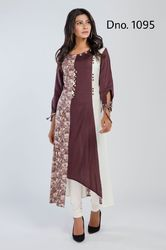 Three Type Print Kurti