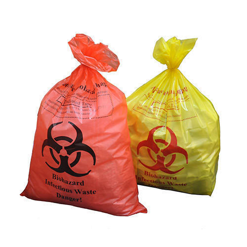 Garbage Bag Medical Waste Collection Manufacturer From