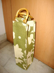 Dyed Printed Bottle Bag
