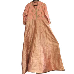 Peach Color Anarkali Suit