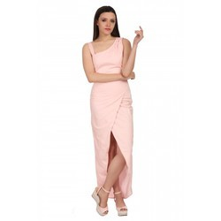 Cotton Sleeveless Designer Long Dress