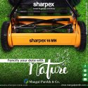 Sharpex Manual Lawn Mower