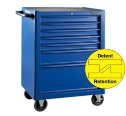 7 Drawers Blue Point Tools Trolley