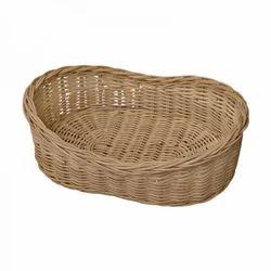 Oval Cane Fruit Basket