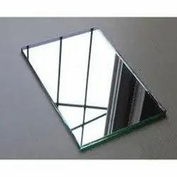 Rectangular Mirror Glass, Size: 2x3 Feet