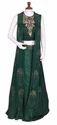 Green Silk Indo-western