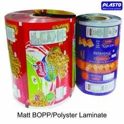 Matt BOPP Polyster Laminate