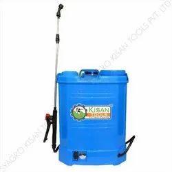 Plastic Battery Operated Sprayer Pump, Capacity: 16 L