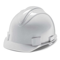 东方企业白色优质HDPE头盔