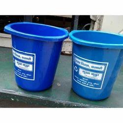 Genex Blue Plastic Bucket, Capacity: 20 Liter