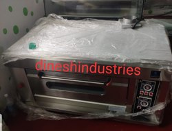 Gas Single Deck Two Tray Bakery Oven