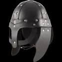 Times Creation High Quality Leather Medieval Leather Viking Helmet