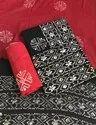 Hand Block Batik Dress Material