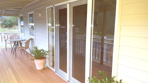 Pleated Mesh Systems for Doors & Windows