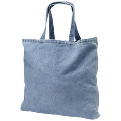 Plain Cotton Denim Bag