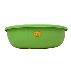 Green Plastic Basin