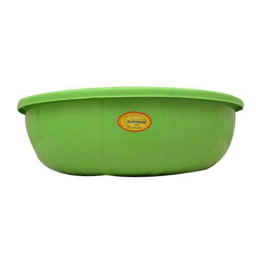 Green Plastic Basin