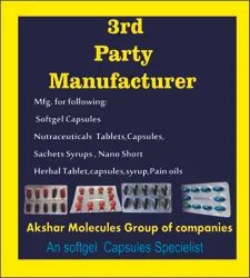 3rd Party Manufacturing Capsules Softgel