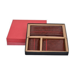 Imported Leather Gift Set