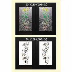 Kitchen Cabinet Door Glass, Thickness: 1-10mm