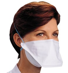Of Respirator mist White Anti Particulate Mask pack Dust pollution N95 50 Foldable -