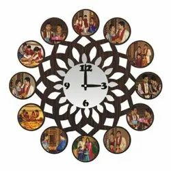 Printed Photo Frame Clock
