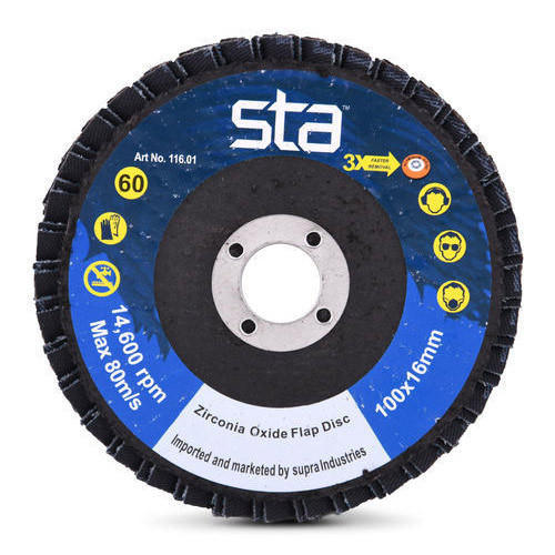 Flap Discs - Zircon - Anti-Clogging - 100mm
