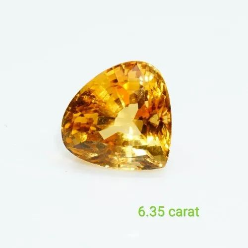 Citrine Ring Gemstone