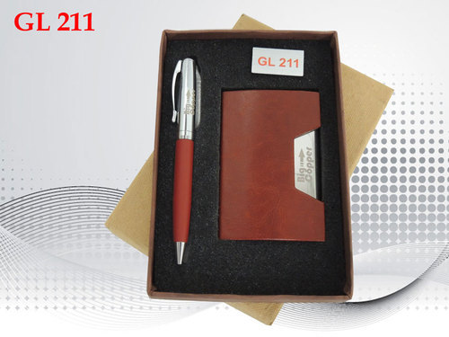 Business Card Holder And Pen Gift At Rs 125 Set Sagar Pur Delhi