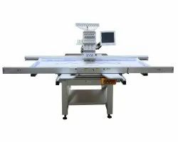 COMPUTERISED AUTOMATIC SINGLE HEAD EMBROIDERY MACHINE