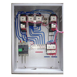 three phase star delta control panel, for submersible pump and motor control