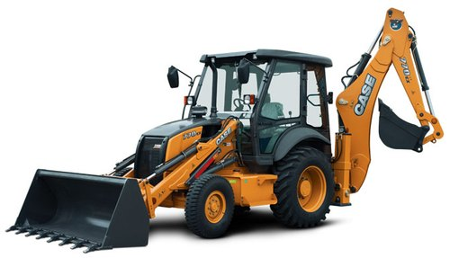 CASE 770EX Backhoe Loader, 76 hp, 8230 kg