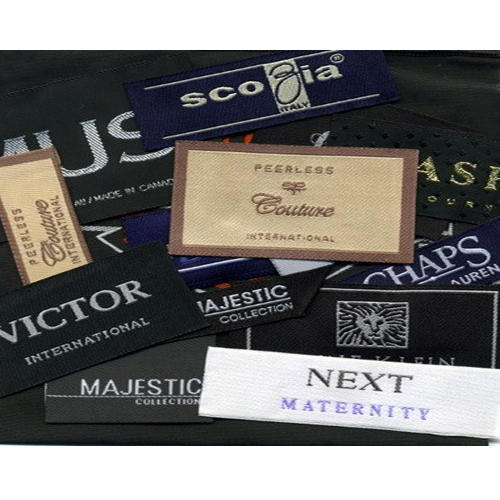 Garment Polyester Woven label