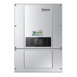 20 Kw Msun Microtek On Grid Solar Inverter