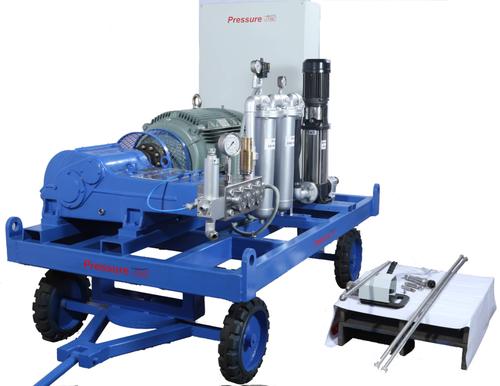 Hydro Blasting Machine - High Pressure Hydro Blasting