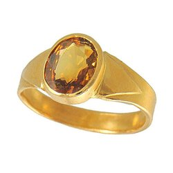 Natural Yellow Sapphire Ring
